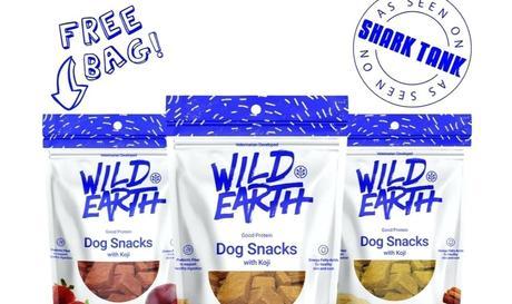 shark tank dog grass vegan treats receive on