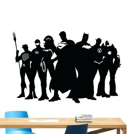 3d vinyl stickers large superhero wall decal marvel dc comics sticker superman