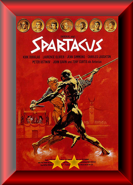 ABC Film Challenge – Oscar Nomination – U – Spartacus (1960) Thoughts