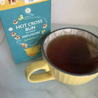 Sainsbury's Hot Cross Bun Tea Review