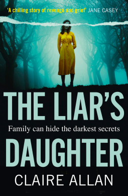 The Liar's Daughter by @ClaireAllan