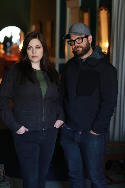 "Paranormal investigators and ""Portals to Hell"" hosts Jack Osbourne and Katrina Weidman."