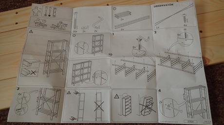 Ikea Hejne Shelving Unit
