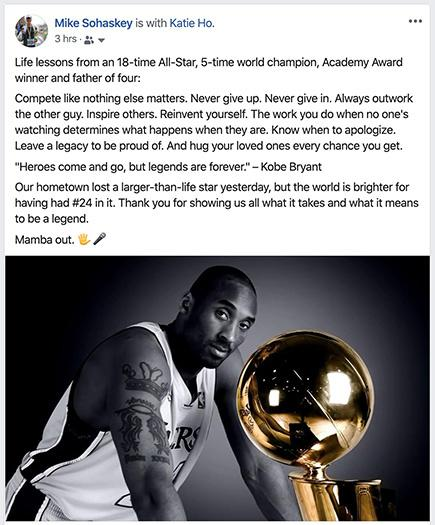 Chasing Perfection and the Mamba Mentality
