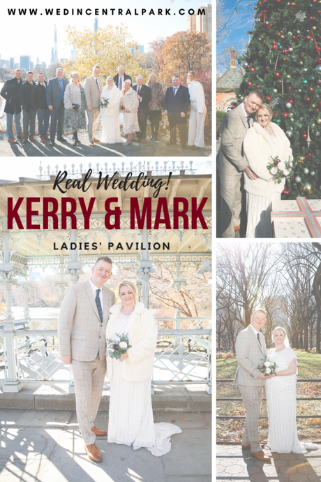 Kerry and Mark's Wedding in the Ladies' Pavilion in December