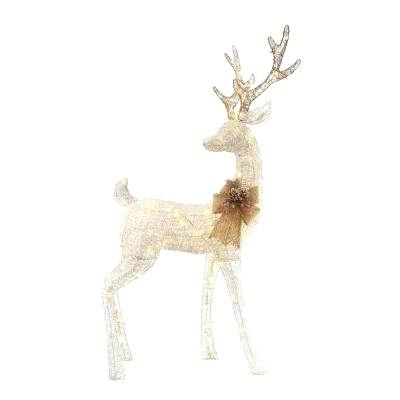 deer xmas decorations decorating cupcakes with buttercream sweet serenity in light led white