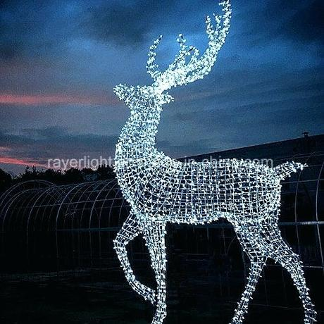 deer xmas decorations decorating small bedrooms with queen bed hot item giant led reindeer string decorative motif lights for decoration