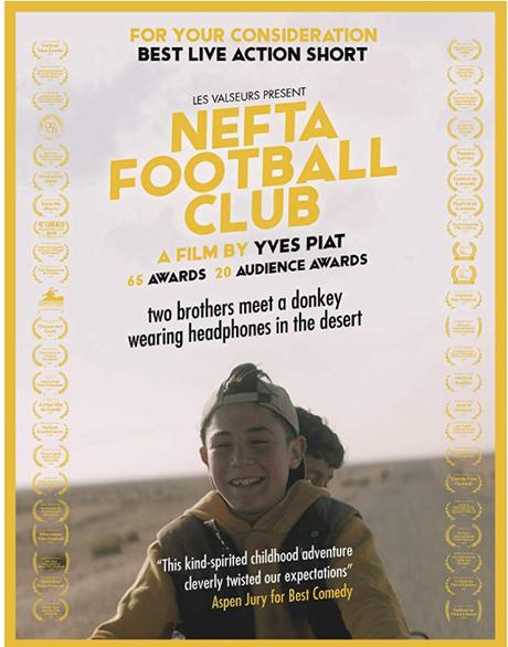 ABC Film Challenge – Oscar Nomination – Y – Nefta Football Club