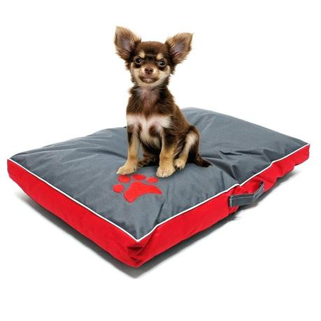 outdoor pet furniture sofa cover mattress dog cushion bed washable red l