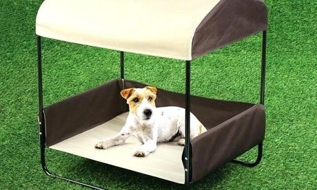 outdoor pet furniture friendly dog bed shade cover beds info