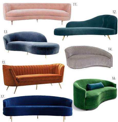 Get the Look: 17 Curved Sofas