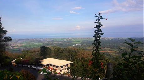 view at Mt. Samat cross