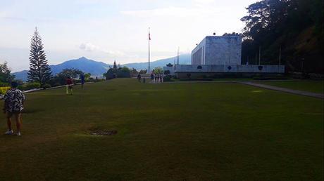 Mt. Samat shrine