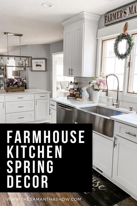 farmhouse kitchen spring decor (1)