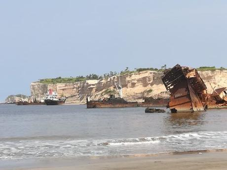Backpacking in Angola: Visiting the Crazy Shipwreck Graveyard in Panguila