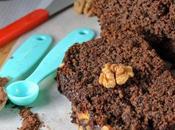 Banana Chocolate Cake with Walnuts Ragi
