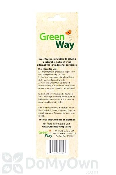 green way packaging canada spider and silverfish trap