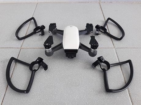 drone unit guards unattached