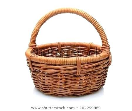 michaels baskets storage wicker with handles round brown basket
