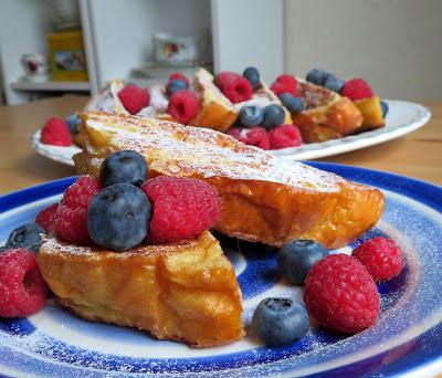 Pain Perdu with Mixed Berries
