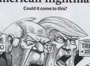 American Nightmare Sanders Versus Trump