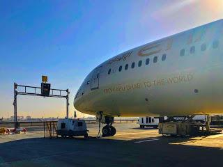 Flying High... Etihad Airways!