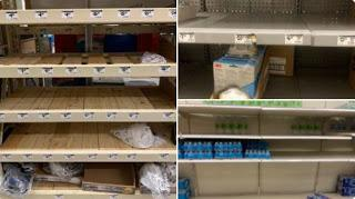 Learning To Improvise May Save Your Life As Store Shelves Are Emptied By 'Ordinary Americans' Scared Into Preparing By Coronavirus