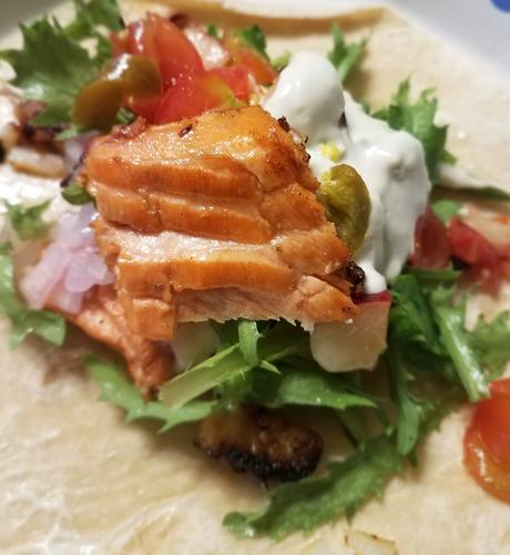 The Best Salmon Tacos You'll Ever Eat (Keto, Paleo, Grain-free)