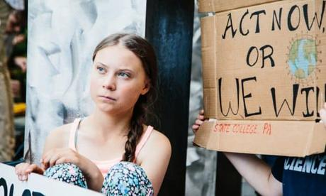 15,000 People Gathered at Bristol Youth Strike For Climate To Hear Greta Thunberg Address The Event