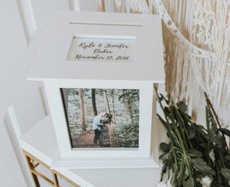 wedding card box photo card box