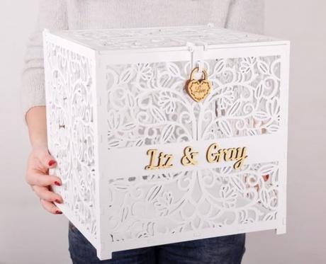 wedding card box ideas white wedding post box