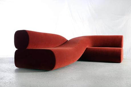 Collectible Design Fair Preview - a sofa with lentil beans!