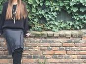 Outfit from Night. Silk Slip Dress IKKS...