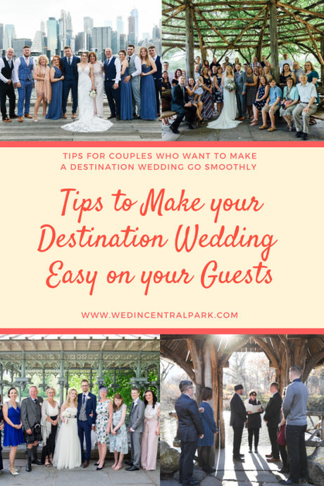 Destination Wedding Etiquette and Tips – How to Make the Trip Easier and More Fun for your Guests