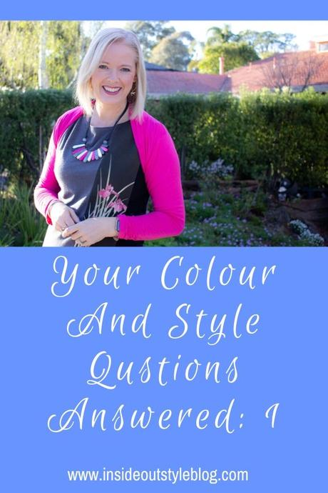 Your Style Questions Answered: 1