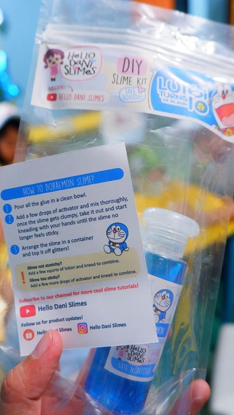 Luigi's 10th Doraemon Slime Theme Birthday Party