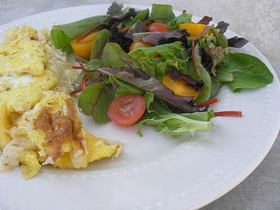 Creamy Crab Omelette