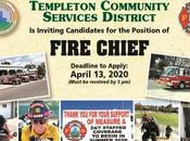 FIRE CHIEF Templeton Community Services District Calif.