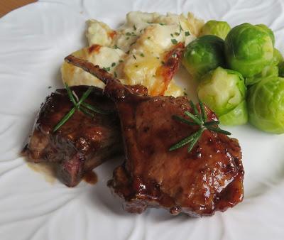 Honey Mustard & Balsamic Lamb Chops