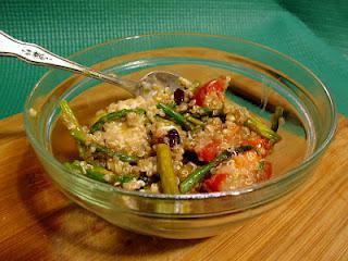 Roasted Asparagus, Tomato, and Quinoa Salad