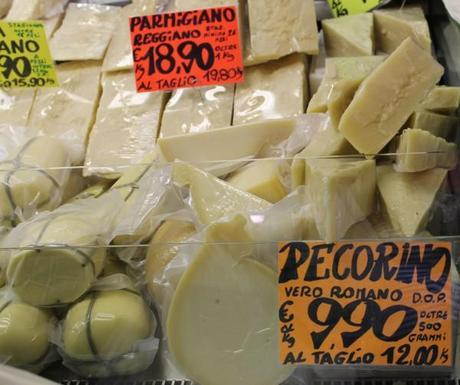 rome market pecorino cheese