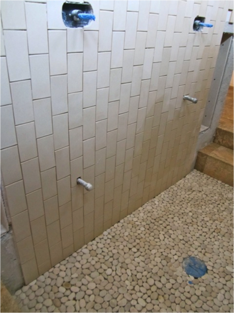 Vertical Shower Tile Quotes