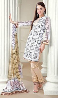 Latest pakistani casual summer salwar kameez collection 2012 paperblog for How to design salwar kameez at home