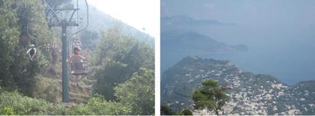 Views from Mount Solaro, Italy