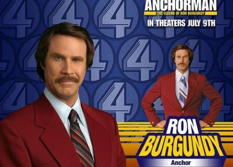 Trailer released for  Anchorman: The Legend Continues