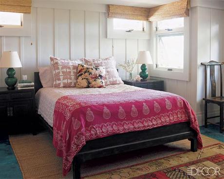 Michael S. Smith Hawaii bedroom Elle Decor