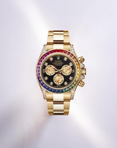 Rolex Oyster Perpetual Cosmograph Rainbow