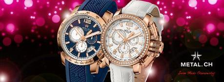 Nuval METAL. CH Luxury Watch