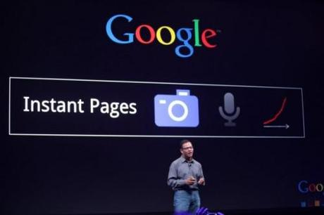 Instant pages in Google Chrome