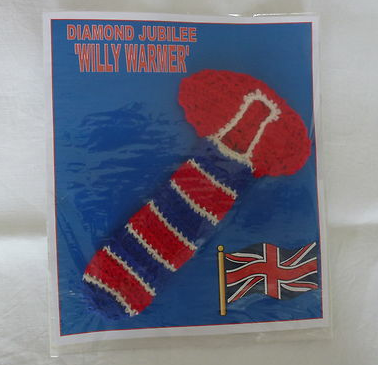 Red, White and...BLUE the hell thought THAT was a good idea?!     The Magic and Madness of eBay part 6 - Jubilee Special!
